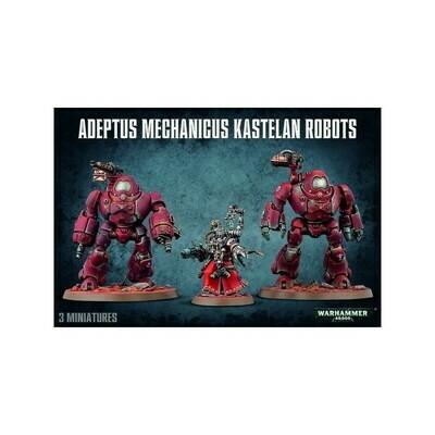 ADEPTUS MECHANICUS KASTELAN ROBOTS - Warhammer 40.000 - Games Workshop