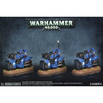 Bike Squad - Space Marines - Warhammer 40.000 - Games Workshop