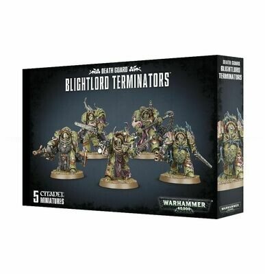 Death Guard Blightlord Terminators - Warhammer 40.000 - Games Workshop