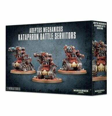 Kataphron Destroyers Breachers Battle Servitors Adeptus Mechanicus - Warhammer 40.000 - Games Workshop