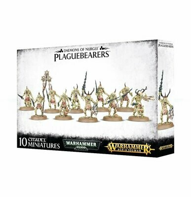 Plaguebearers of Nurgle - Warhammer Age of Sigmar- Games Workshop