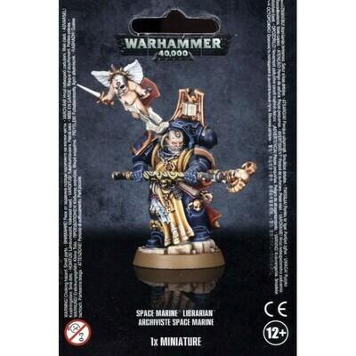 SPACE MARINE LIBRARIAN Scriptor Archiviste - Warhammer 40.000 - Games Workshop