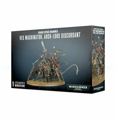 Vex Machinator, Arch-Lord Discordant - Chaos Space Marines - Warhammer 40.000 - Games Workshop