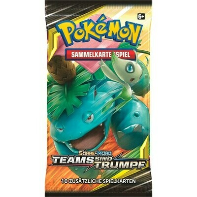 Pokemon - Sonne und Mond 9 - Pack (1) - Deutsch