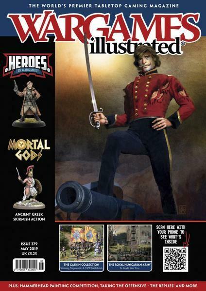 Wargames Illustrated #379 - Heft Mai 2019