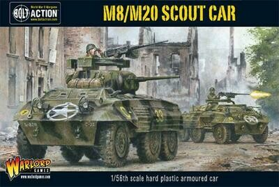 M8/M20 Greyhound Scout Car (Plastic Box) - American - Bolt Action