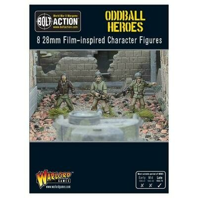Oddball Heroes - Bolt Action - Warlord Games