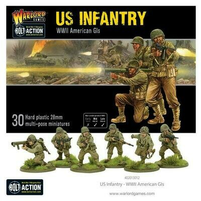 US Infantry - WWII American GIs - American - Bolt Action