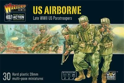 US Airborne plastic boxed set - American - Bolt Action