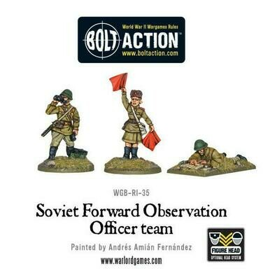 Soviet Army FOO Forward Observer Officers - Bolt Action - Warlord Games