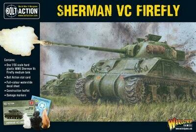 Sherman Firefly Vc (Plastic Box) - British - Bolt Action - Warlord Games