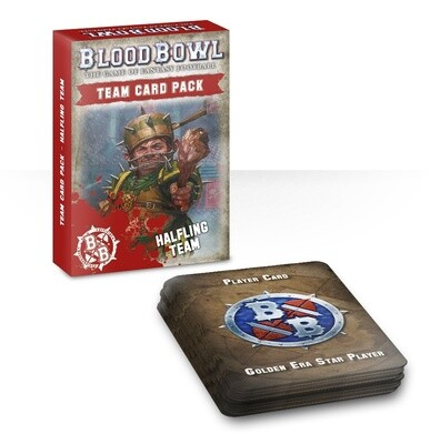 Team Card Pack: Halfling Team (Englisch) Grasshuggers - Blood Bowl - Games Workshop