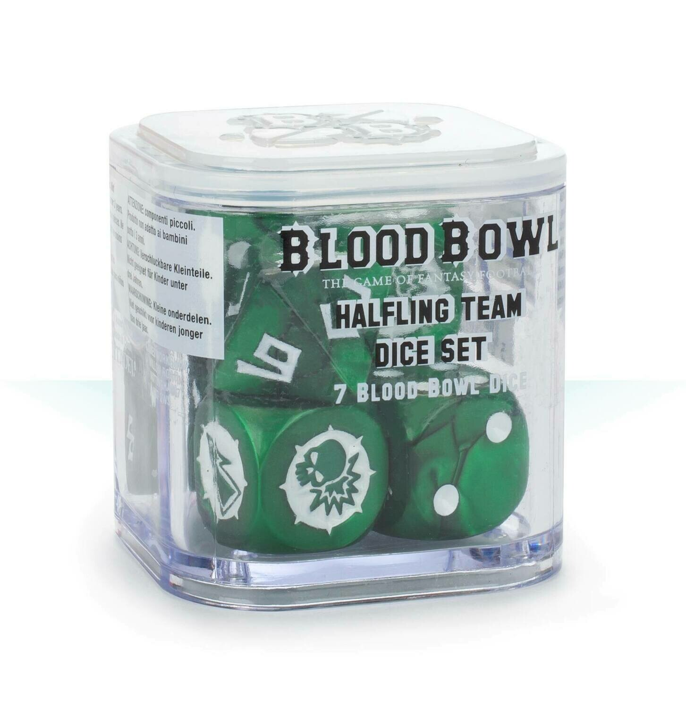 Halfling Team Dice Set Würfel Grasshuggers - Blood Bowl - Games Workshop