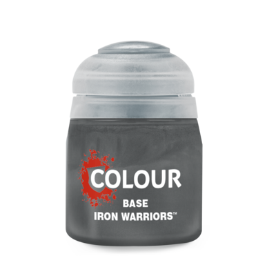 BASE: IRON WARRIORS (12ML) - Citadel Base - Games Workshop