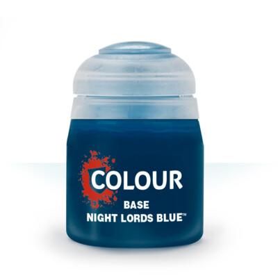 BASE: NIGHT LORDS BLUE (12ML) - Citadel Base - Games Workshop