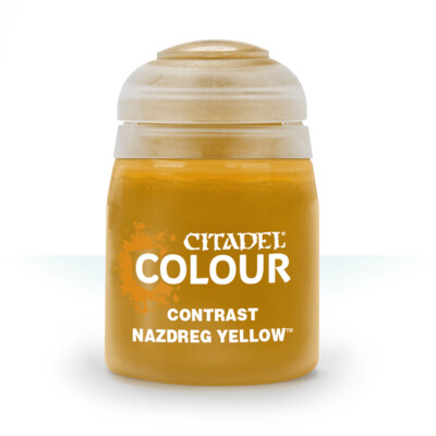 CONTRAST: NAZDREG YELLOW (18ML) - Citadel Contrast - Games Workshop