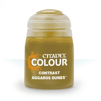 CONTRAST: AGGAROS DUNES (18ML) - Citadel Contrast - Games Workshop