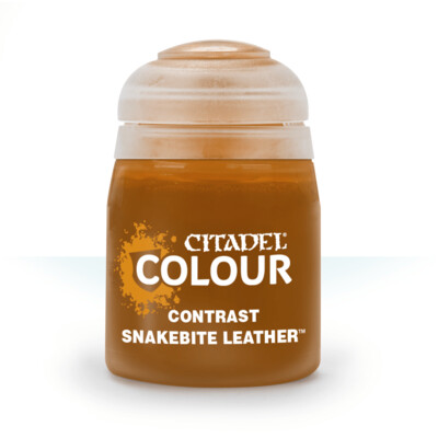 CONTRAST: SNAKEBITE LEATHER (18ML) - Citadel Contrast - Games Workshop