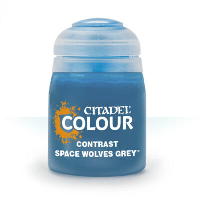 CONTRAST: SPACE WOLVES GREY (18ML) - Citadel Contrast - Games Workshop