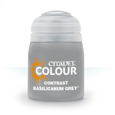 CONTRAST: BASILICANUM GREY (18ML) - Citadel Contrast - Games Workshop
