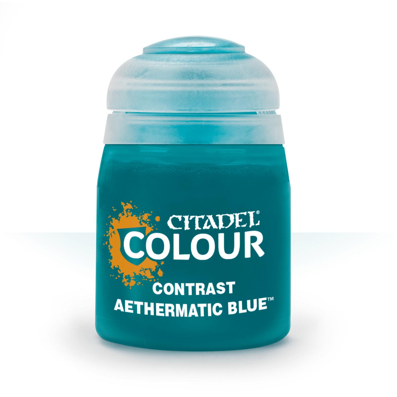 CONTRAST: AETHERMATIC BLUE (18ML) - Citadel Contrast - Games Workshop