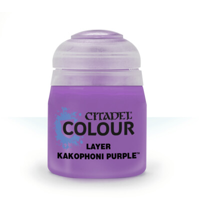 LAYER: KAKOPHONI PURPLE (12ML) - Citadel Layer - Games Workshop