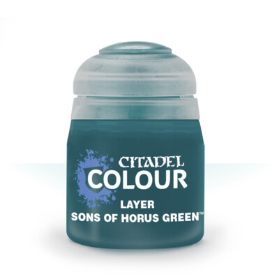 LAYER:SONS OF HORUS GREEN (12ML) - Citadel Layer - Games Workshop