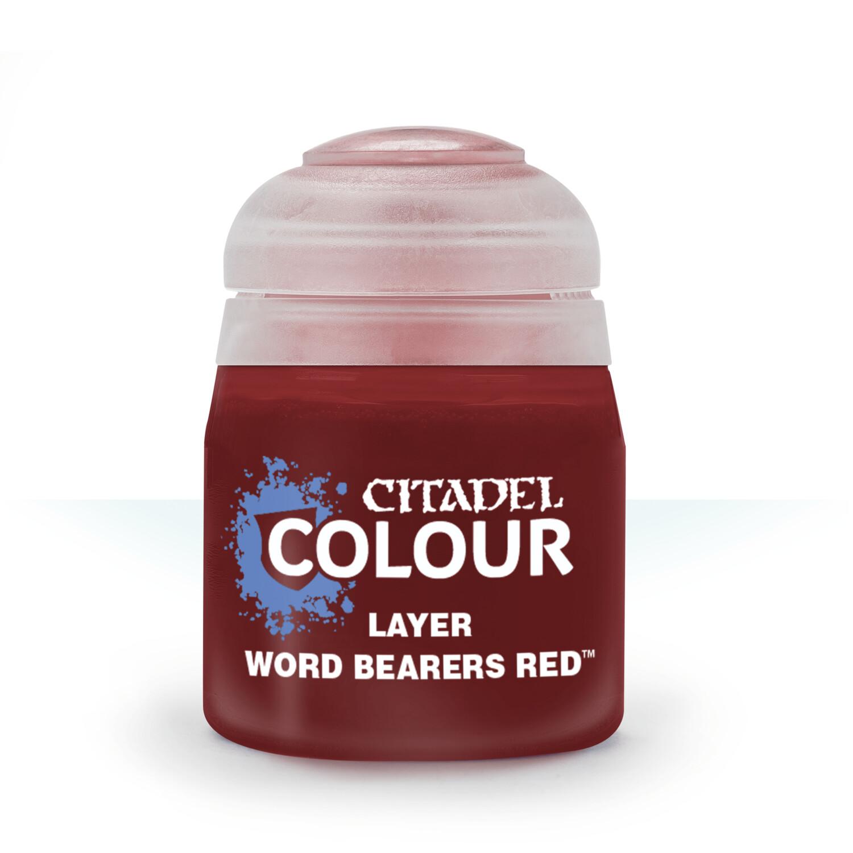 LAYER: WORD BEARERS RED (12ML) - Citadel Layer - Games Workshop