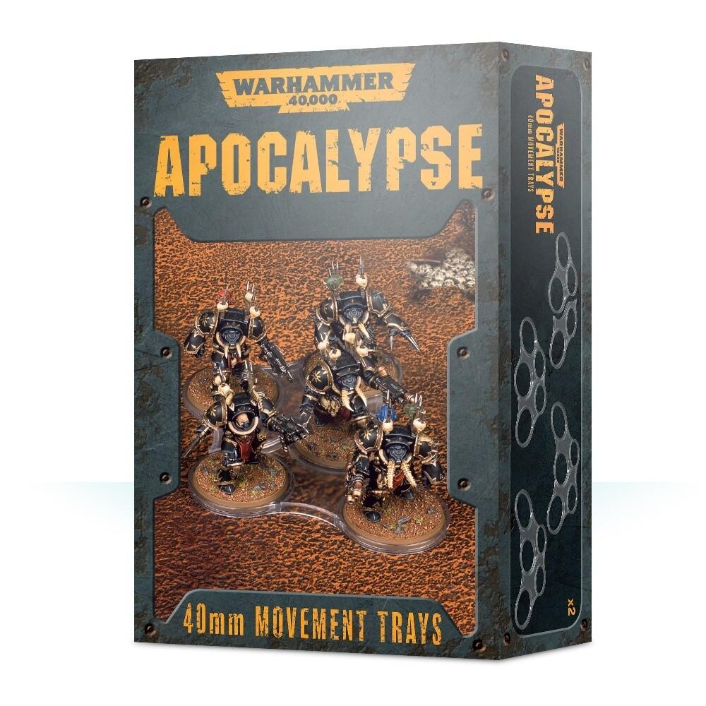 Einheitenbases für Apocalypse (40 mm) Movement Trays - Warhammer - Games Workshop