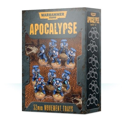 Einheitenbases für Apocalypse (32 mm) Movement Trays - Warhammer - Games Workshop