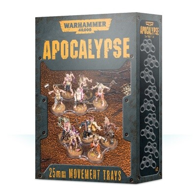 Einheitenbases für Apocalypse (25 mm) Movement Trays - Warhammer - Games Workshop
