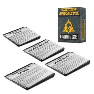 Apocalypse Command Assets Kommandooptionen für Apocalypse - Warhammer - Games Workshop