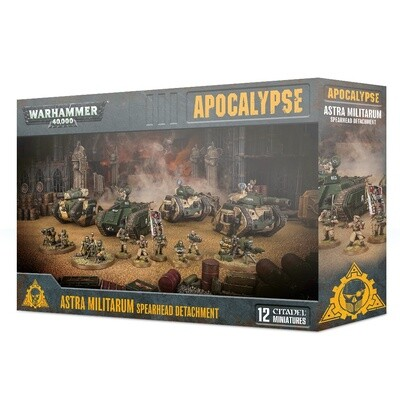 Speerspitze des Astra Militarum - Apocalypse - Warhammer - Games Workshop