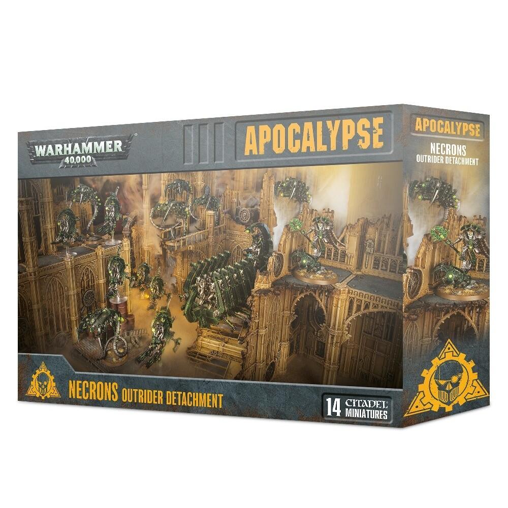 Vorreiter der Necrons - Apocalypse - Warhammer - Games Workshop