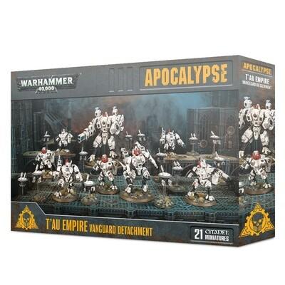 Vorhut des T'au Empires Vanguard Detachment - Apocalypse - Warhammer - Games Workshop