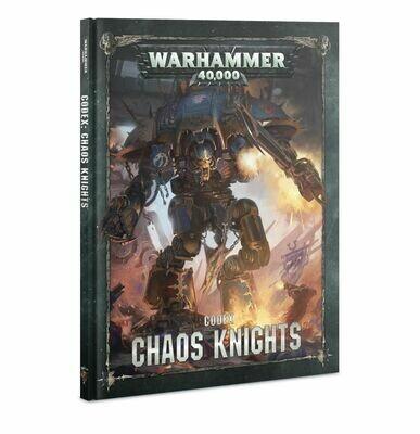 Codex: Chaos Knights English - Chaos Knights - Warhammer 40.000 - Games Workshop