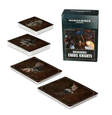 Datacards: Chaos Knights (Englisch) - Chaos Knights - Warhammer 40.000 - Games Workshop