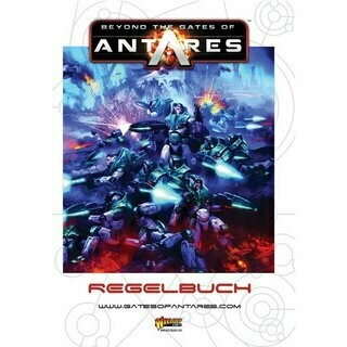 Beyond the Gates of Antares Rule Book Regelbuch (Deutsch) Warlord Games