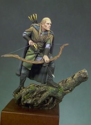 Elf Archer - 54mm - Andrea Miniatures