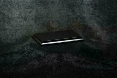 Wooden Base Black, 135x76x15mm - Sockel - Andrea