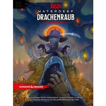 Dungeons and Dragons D&D D&D Waterdeep Dragon Heist Drachenraub - DM Screen - Deutsch