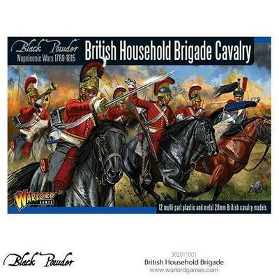 British Houshold Brigade Cavalry - Black Powder - Warlord Games