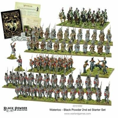 Waterloo - Black Powder 2nd edition Starter Set - Warlord Games