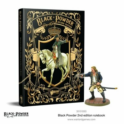 Black Powder II rulebook Regelbuch Deutsch - Warlord Games