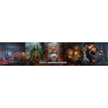 Dungeons & Dragons - Waterdeep: Das Verließ des wahnsinnigen Magiers - Dungeon Master's Screen Spielleiterschirm - DE