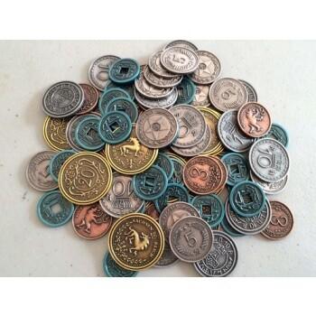 Scythe: Metal Coins - EN