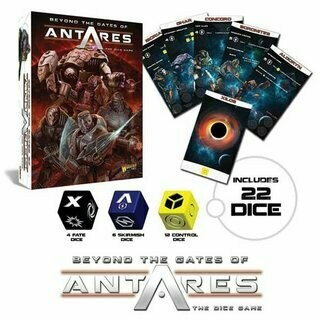 Beyond the Gates of Antares Dice Game (EN) - Warlord Games