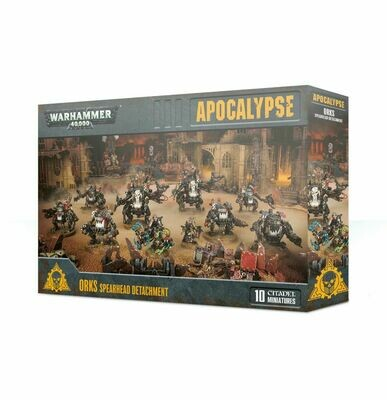 WH40K Orks Spearhead Detachment - Apocalypse - Warhammer - Games Workshop
