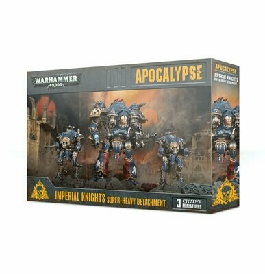 Superschweres Kontingent der Imperial Knights Super Heavy Detachment - Apocalypse - Warhammer - Games Workshop