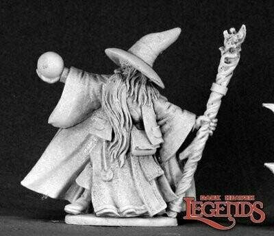 Galladon Greycloak, Wizard - Reaper Miniatures
